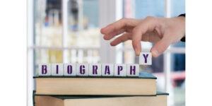 İngilizce biyografi